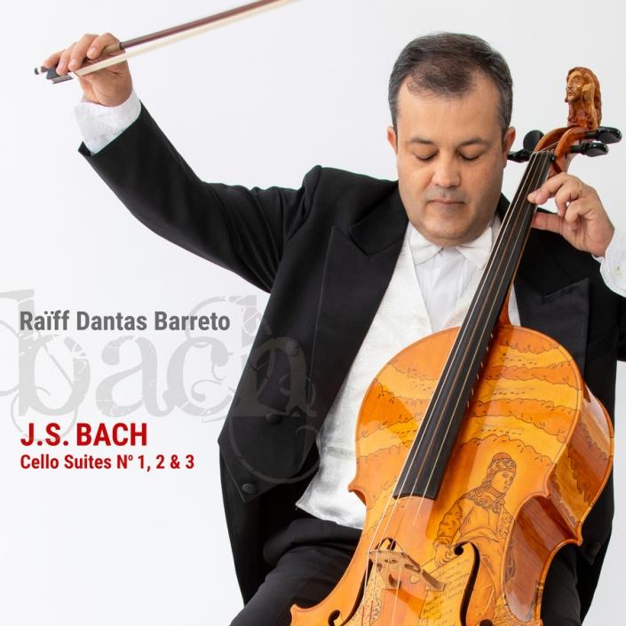 capa J. S. Bach: Cello Suites No. 1, 2 & 3
