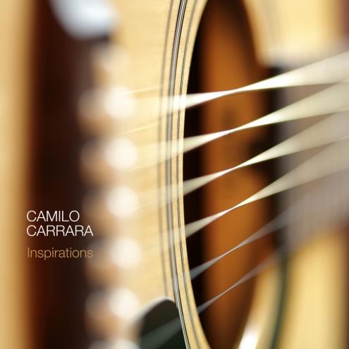Capa do album Inspirations - Camilo Carrara
