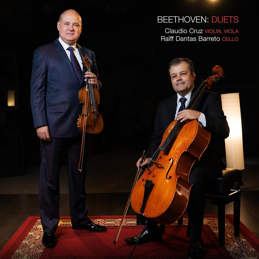 Capa Beethoven Duets